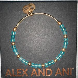 Alex and Ani Beaded Bangle
